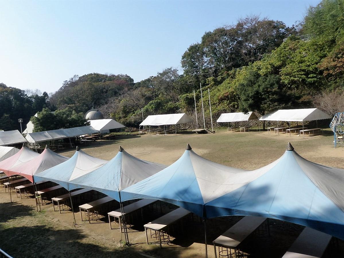 集会用テント・多目的グラウンドの写真